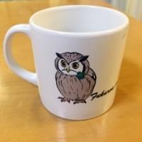 アフリカオオコノハズクのマグカップ