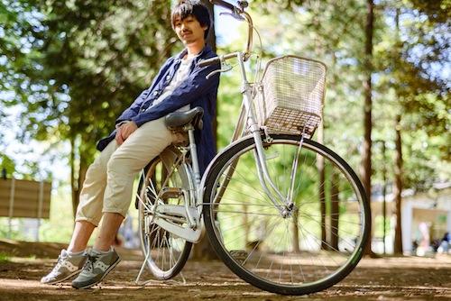 僕とキミの自転車周遊記 メインビジュアル